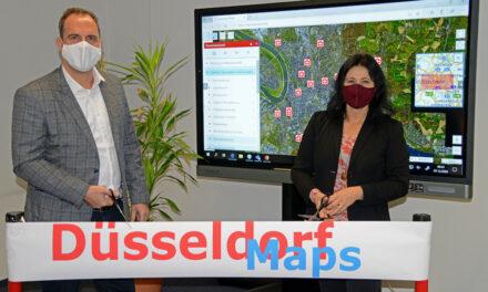 """""""Düsseldorf Maps"""" geht online"""