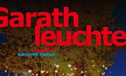 """""""Garath leuchtet"""" — Stimmungsvolle Beleuchtung lädt zur Erkundung ein"""