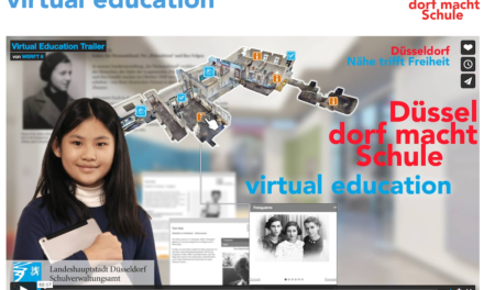 """""""virtual education"""": Digitale Rundgänge für Schulen gehen an denStart"""