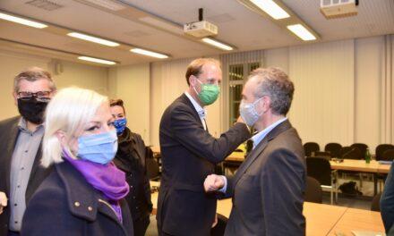 CDU und GRÜNE bereiten den Abschluss der Kooperationsgespräche vor
