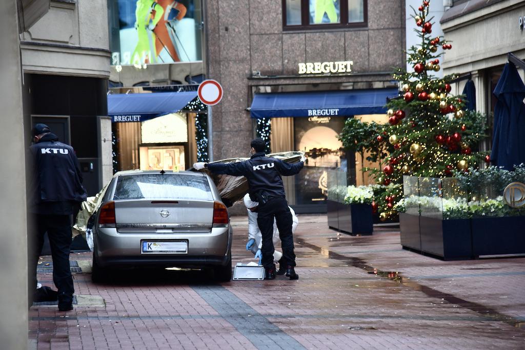 Überfall auf Juwelier auf der Kö Foto: LOKALBÜRO