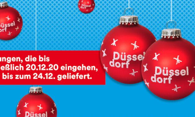 Auch noch in letzter Minute: Geschenkideen für Düsseldorf-Fans