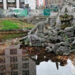 Arbeiten am Tritonenbrunnen werden wieder aufgenommen