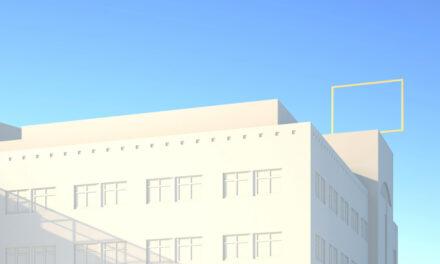 """Kunst am Bau: """"Blickfang"""" für dasKAP1"""