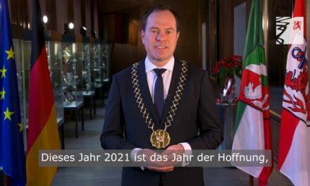 Neujahrsansprache Oberbürgermeister Dr. Stephan Keller