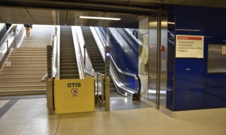 """Reparatur der Fahrtreppen am U‑Bahnhof """"Schadowstraße"""""""