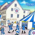 Blau-Weiss-Feldlager symbolisch eröffnet