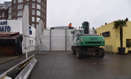 Erste Hochwasserschutzmaßnahmen in Düsseldorf eingeleitet