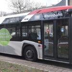 Buslinie 735 fährt eine Umleitung