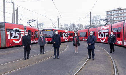 Rheinbahn startet ins Jubiläumsjahr