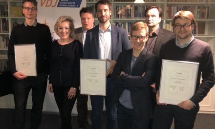 Journalisten mit dem Heinrich-Heine-Journalismuspreis 2020 ausgezeichnet