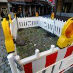 Baustelle am Carlsplatz: Der 7. Monat — sie hat es geschafft!