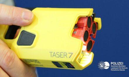 Düsseldorfer Polizei testet Distanzelektroimpulsgeräte