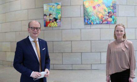 Neue Kunst im Landtag