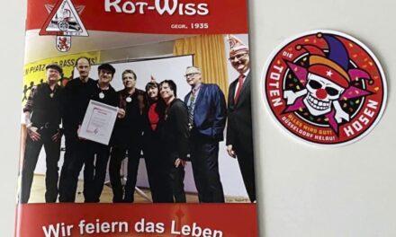 Funkenartillerie Rot-Wiss verkauft Sessionsheft zugunsten des Kinderhospiz Regenbogenland