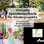 Gipfelkurs startet Spendenlauf für Roundabout Kids