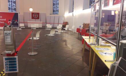 Neuer Aufwärmraum für Obdachlose in der Berger Kirche
