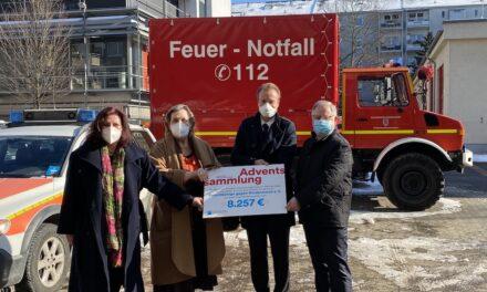 Adventssammlungen der Feuerwehr Düsseldorf war ein voller Erfolg
