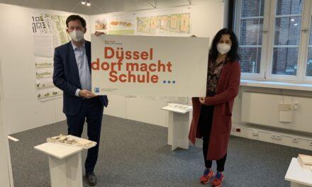 Sieger für den Neubau des Gymnasiums Heinzelmännchenweg prämiert