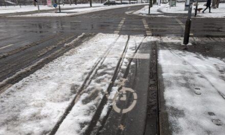 Rad- und Fußwege beim Winterdienst priorisieren!