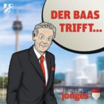 Der Baas der Düsseldorfer Jonges lässt von sichhören