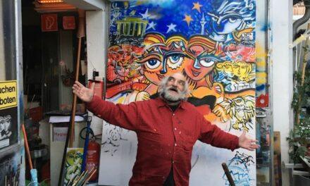 Zum Tod des Mauer-Künstlers und Street Art Pioniers Christophe E. Bouchet
