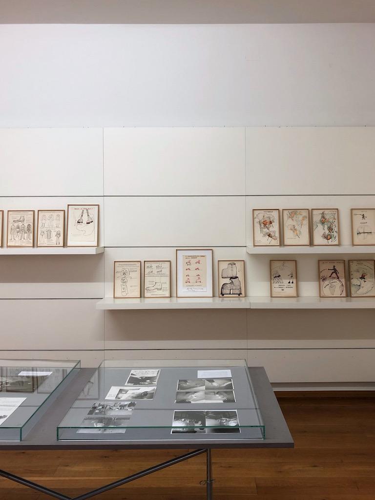 Ausstellungsansicht, Chris Reinecke: Partizipation von ich und wir. Stadtmuseum Düsseldorf, 2021