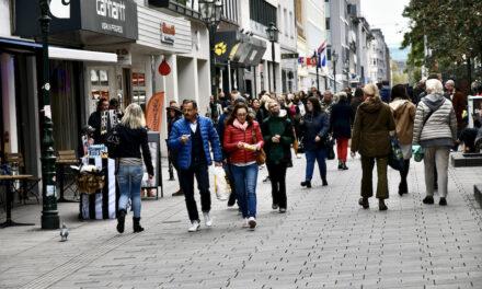 Besucher geben Düsseldorfer Innenstadt gute Bewertung