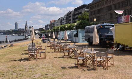 Stadtstrände in Düsseldorf sollen ab Ende Februar aufgebaut werden