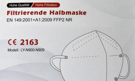 Apotheken dürfen nicht auf die Eigenbeteiligung der Anspruchsberechtigten in Höhe von zwei Euro bei der Abgabe von FFP2-Masken verzichten