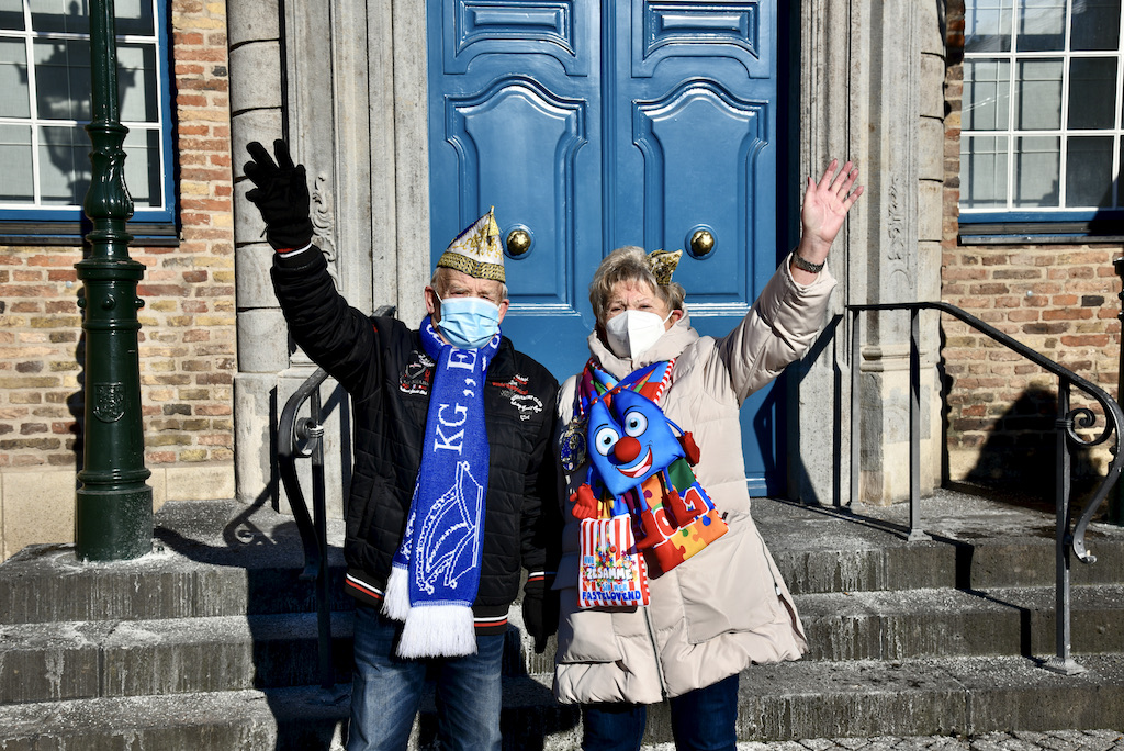 Dieter und Dortis Meyer von der KG 11 vom Niederrhein Foto: LOKALBÜRO