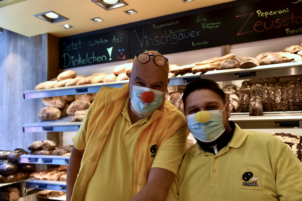 Bäckerei Hinkel wie eh und je Foto: LOKALBÜRO