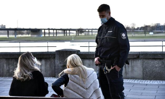 Ordnungsamt kontrollierte Maskenpflicht und verwies auf das Verweilverbot