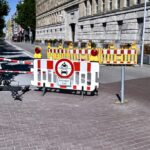 Zufahrt zum Mannesmannufer am Wochenende gesperrt