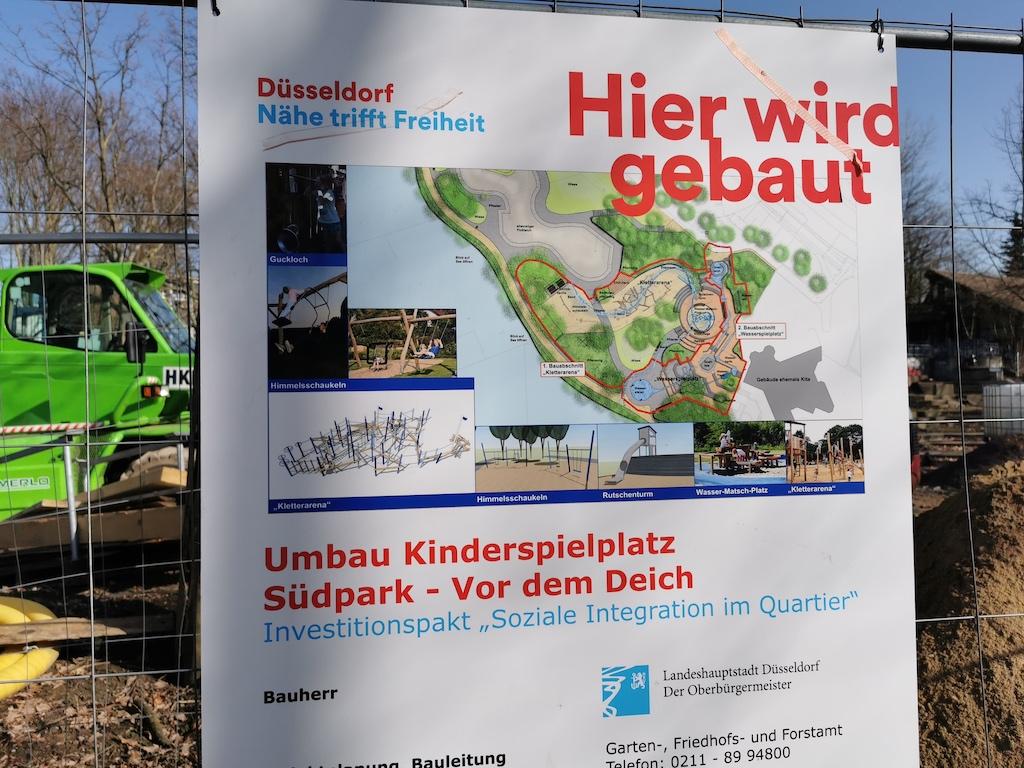 Spielplatz am Südpark Foto: Nadine Klein