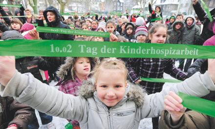 Lasst Deutschland grün erleuchten am 1o.o2 – Tag der Kinderhospizarbeit