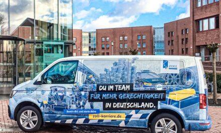 Hauptzollamt Düsseldorf wirbt für eine Karriere beimZoll