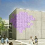 Eine künstlerische Fassade für das Friedrich-Rückert-Gymnasium