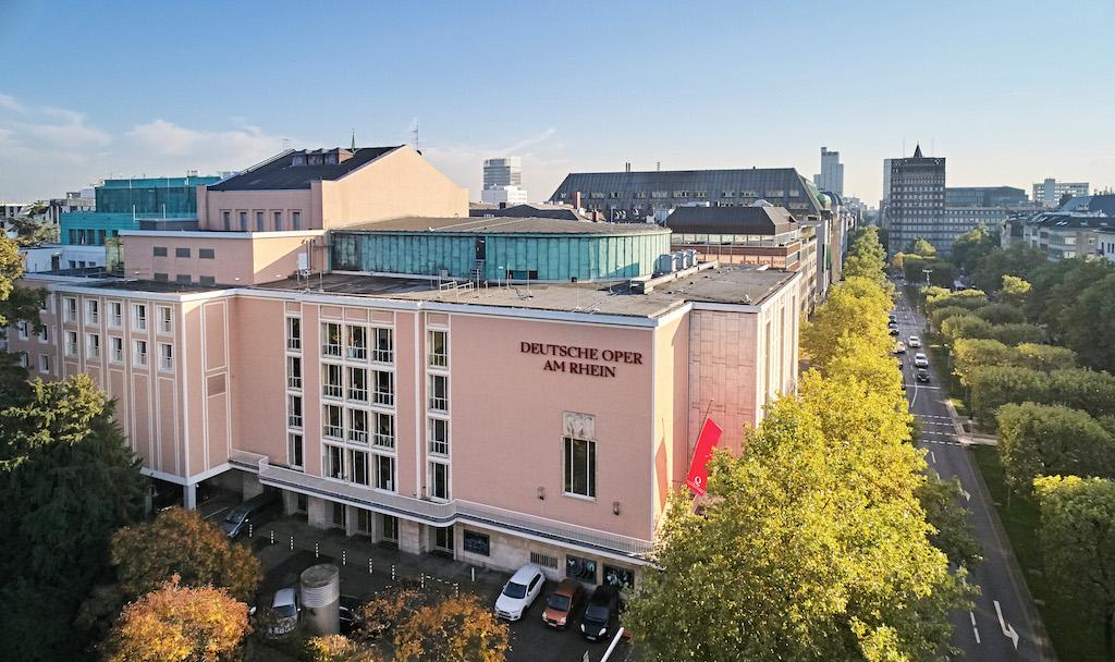 Das Opernhaus Düsseldorf,(c)Jens Wegener