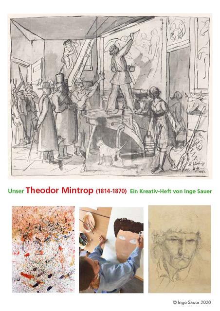 Der Titel des Kreativhefts, das die Kinder im Rahmen des Projektes erhalten haben,(c)Inge Sauer