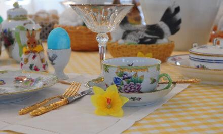 """""""Wie aus dem Ei gepellt!"""": Der Tisch des Monats"""