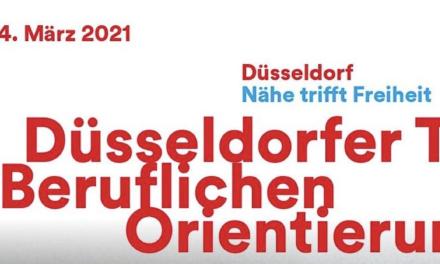 """""""Düsseldorfer Tage der Beruflichen Orientierung 2021"""" starten heute"""