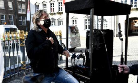 DJ Theo Fitsos wollte sich öffentlich Luft machen