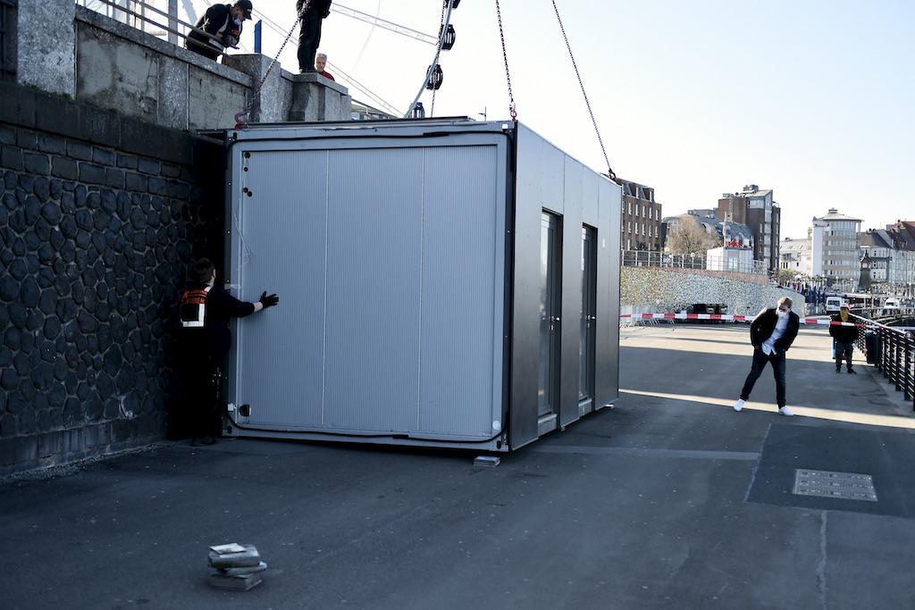 Die Toilettenanlage kommt zurück Foto: LOKALBÜRO