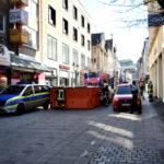 Große Teile der Altstadt über Stunden gesperrt