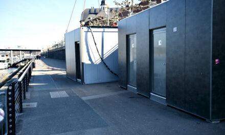 Öffnung der Toilettenanlage an der Freitreppe verschiebt sich
