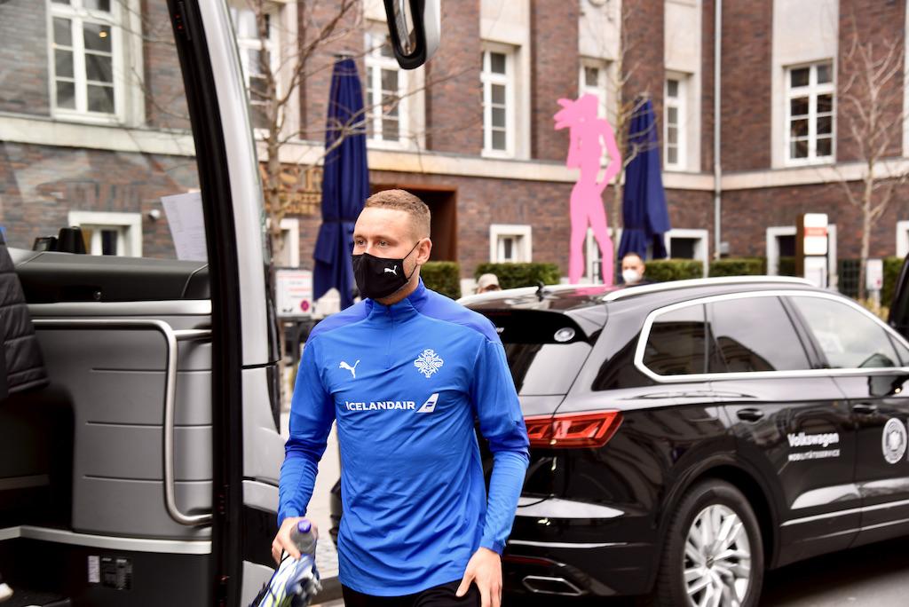 Spieler der Isländische Fußballnationalmannschaft Foto: LOKALBÜRO
