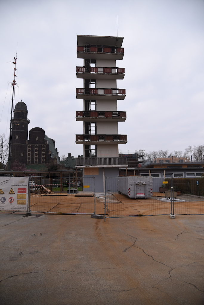 Der Schlauchturm der Wache 2 Foto: LOKALBÜRO