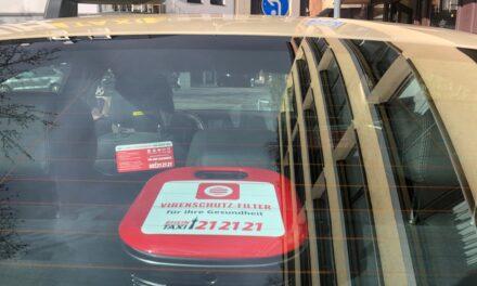 Rheintaxi baut Luftfilter in ihre Fahrzeuge ein