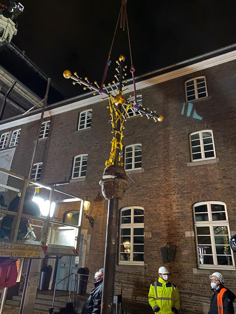 Kreuz Maxkirche (Foto: Frank Heidkamp)